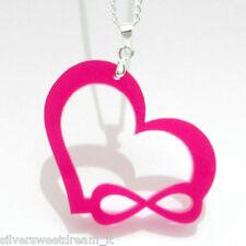 Collana infinite love amore infinito ciondolo one direction directioner necklace