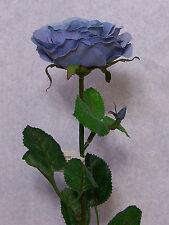 "Six Quality Choose 23"" Ruby Rose Artificial Faux Silk Flower Stem"