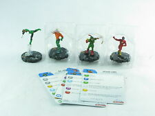 HEROCLIX JUSTICE LEAGUE the collection, 105-108, Hal Jordan, Arthur Curry
