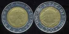 ITALIE   ITALY  500 lire 1994  ( bis )