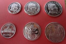 3 x Vatikan Medaillen Papst Johannes Ecco le Euro - keine Euromünzen KMS #2_1