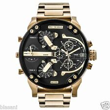 Diesel Original DZ7333 MR DADDY 2.0 Gold Multiple Time Chronograph Watch