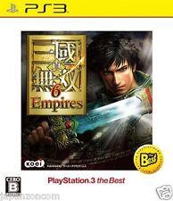 Used PS3 Shin Sangoku Musou 6 Empires PLAYSTATION 3 SONY JAPAN JAPANESE IMPORT