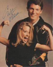 "Christopher reeve ""Superman"" autógrafo signed 20x25 cm Revista Imagen"