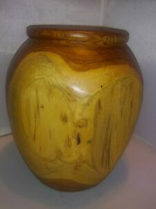 TEAK ROOT WOOD VASE, Natural Wood Art, Handmade Wooden Sculpture