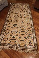 Antique Tribal Rug 3.7 x 8.10