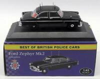 Atlas Editions 1/43 Scale  4 650 116 - Ford Zephyr Mk2 - Lancashire Police Car