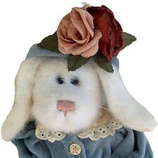 "Vintage Boyd's Bear Rabbit Vanessa D. Lapinne Plush Toy Archive Collection 11"""