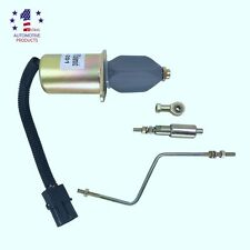FUEL SHUT OFF SOLENOID 3935456 SA-4762-12 for 5.9L, 8.3L CUMMINS DIESEL ENGINE