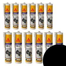 Montageklebstoff SikaBond MaximumTack Schwarz 12 Kartuschen a 300 ml