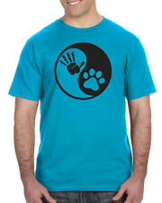 YING YANG Human Dog Cat Fur Baby BFF Cuddles XOXO Men's & Women's Unisex T-Shirt