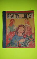 1939 Beauty & THE Beast Frederick Loeser & Co. Big Little Penny Book Premium