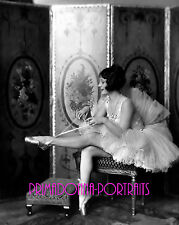 "HELENE COSTELLO 8X10 Lab Photo 1920s ""ALFRED C. JOHNSTON"", Ballet Slippers Scene"