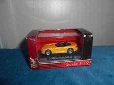 Dodge Viper SRT-10 jaune Road signature Yat Ming 1/72