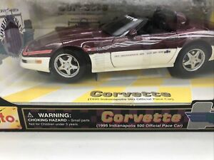 1/18 Maisto 1995 Corvette Indianapolis 500 Official Pace Car JM Part # 31825