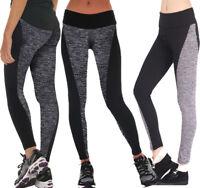 Women Yoga Pants Ladies Fitness Leggings Running Gym Exercise Sports Trousers #@