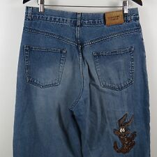 History Iceberg Wile E. Coyote Jeans Mens Size 34 X 24 (Actual 32 x 24) Italy