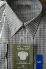"""Men's shirt -  Essentials -  grey - long sleeve - 15.5"""" - new with tag"""