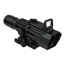 VISM 3-9x42 P4 Sniper Retical Scope W/Flip Up Red Dot Reflex Optic-VADOBP3942G