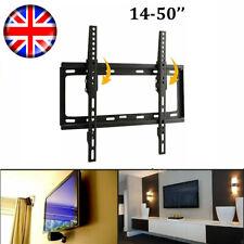 Tilt Wall Mount TV Bracket Stand For 17 26 32 40 42 45 Inch Plasma LED LCD UK