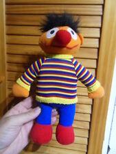 Plush Peluche doudou poupée doll Ernest 1 rue Sesame STREET l'ile aux enfants