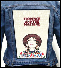 FLORENCE AND THE MACHINE --- Giant Backpatch Back Patch