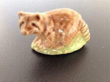 Wade Whimsies. UNBOXED. Real English Porcelain Minatures. Raccoon. Number 55