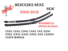 Windshield Wiper Blade Set For Mercedes C230 C250 C300 C350 C63 E350 E400 E550