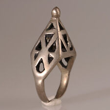 9726 Alte Tuareg Ring Silber Mali