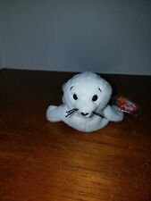 Ty Beanie Baby Seamore the Seal PVC Pellets RARE & RETIRED w/ ERRORS!