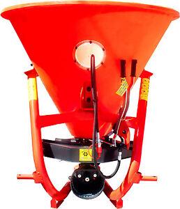 Streuer Düngerstreuer Einzelturbinenstreuer mit 200L/270kg  Anbau für LAND AGRAR