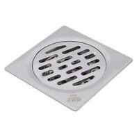 Stainless Steel Bathroom Deodorant Shower Hair Drain Mesh Sink Floor Strainer