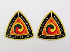 2 Nos Ama Decals - American Motorcycle Association - dirt bike - Ahrma - Vintage