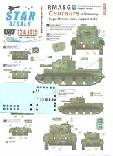 Star Decals 1/72 RMASG Centaurs In Normandy - Royal Marine Close Support Tanks
