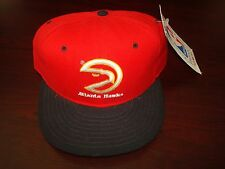 ATLANTA HAWKS NBA NEW    WOOL   NEW ERA FITTED SZ 7 1/2    1990S VINTAGE HAT CAP