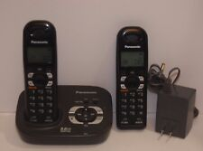 Panasonic Cordless Phone System With Spare Handset Model KX-TG4321B