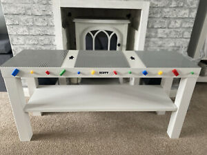 Childrens Baseplates Construction Play Table Brick Compatible with Lego & Duplo