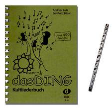 Das Ding Kultliederbuch 1 - mit MusikBleistift - DUX66 - 9783934958661