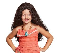 Disguise #41535 Girls Disney Princess Moana Dress-Up Halloween Costume Wig