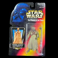 Star Wars The Power Of The Force Tusken Raider Red Card Closed Hand Variant
