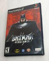 Batman: Vengeance (Sony PlayStation 2, 2001) PS2 Complete