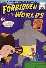 Forbidden Worlds #85 - Toy Monkey On Cover - 1960 (8.0/8.5) Wh