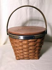 Longaberger 2005 Bee Basket Combo With A Special Presentation Lid NEW