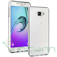Pellicola+Custodia AIR cover Samsung Galaxy A7 A710F 2016 trasparente flessibile