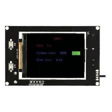 "2.4"" LCD Music Spectrum Display Analyzer MP3 PC Amplifier Audio Level Indic J3C2"