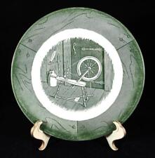 "EUC UNDERGLAZED CERAMIC ""COLONIAL HOMESTEAD GREEN"" BY ROYAL BREAD & BUTTER PLATE"