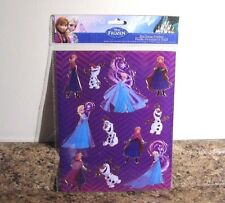 Disney Frozen Hot Stamp Stickers Sheet New