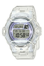 Casio Baby-g Shock Resistant Digital World Time Quartz Bg-169r-7e Womens Watch