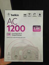 Belkin AC 1200 Dual-Band Wi-Fi Range Extender 2.8X