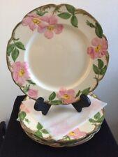 """4 pcs Franciscan Desert Rose 10.5"""" Dinner Plates Gladding McBean Mark"""